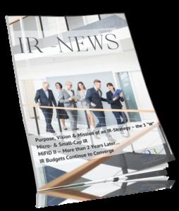 IR-Kundenmagazin Q2-2020