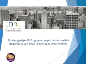 Small- & MicroCap IR